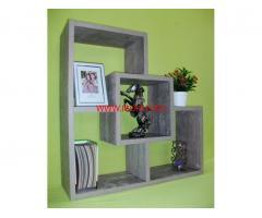 Етажерка за стена - Зелен Нефрит