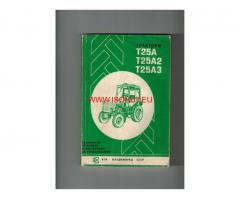 трактор Т25А - Т25А2 - Т25А3 ръководство и обслужване
