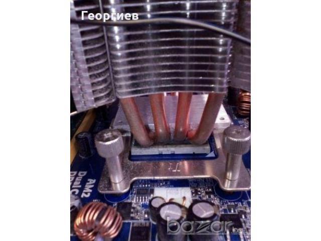 Дъно с процесор и 4GB RAM / РАМ - s. АМ2/АМ2+/ AMD Athlon 64 X2 6000+