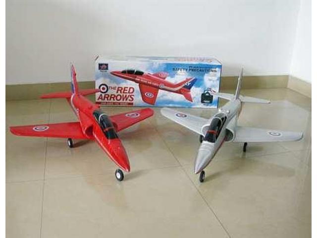 RC самолетчета с дистанционно
